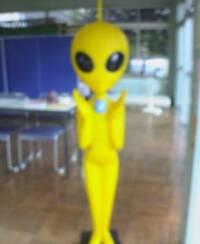 もしも道ばたで宇宙人に出会ったら?